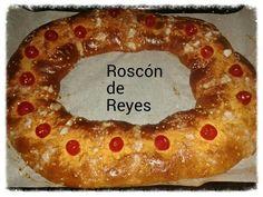 Roscón de Reyes casero.