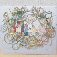 ご祝儀袋で作る水引ボードのリメイクデザインまとめ | marry[マリー] Diy Wedding, Wreaths, Handmade, Weddings, Instagram, Decor, Hand Made, Decoration, Door Wreaths