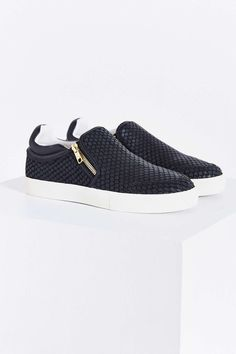 Ash Intense Snake Zip Slip-On Sneaker
