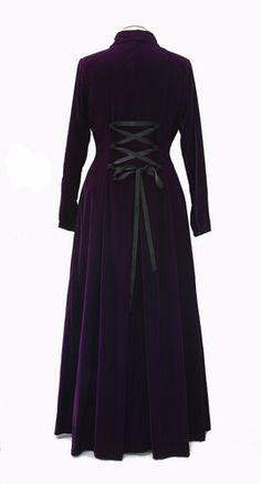 Long Coat #violet, #Corset