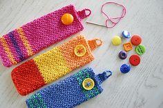 Eyewear Case By Susan Carlson - Free Crochet Pattern - (ravelry) Diy Clothes Accessories, Crochet Accessories, Crochet Case, Knit Or Crochet, Knitting Patterns, Crochet Patterns, Craft Show Ideas, Crochet Handbags, Crochet Squares