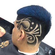 Mariano fernandez💈🇵🇪 (@marianothebarber99) • Instagram-Fotos und -Videos Baddie Hairstyles, Boy Hairstyles, Straight Hairstyles, Hair Designs For Boys, Medium Hair Styles, Short Hair Styles, Shaved Hair Designs, Haircut Designs, Faded Hair