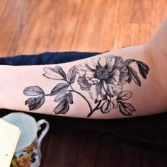 poppy tattoo black and white - Google Search