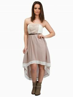 Crochet Belted Dress #vanity #fashion #womens #womensfashion #womensapparel #clothing #spring2014 #crochet #dress
