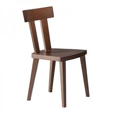 Milano Side Chair #solid #wood #restaurant #chair