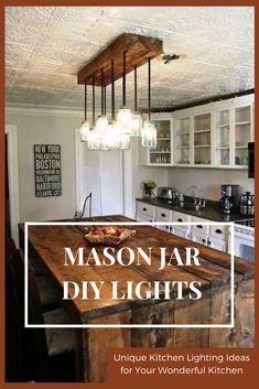 723 Best Unique Kitchen Lighting Images