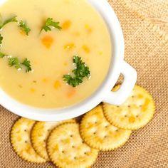 Jemná zemiaková polievka