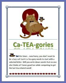 Cateagories Tea Part