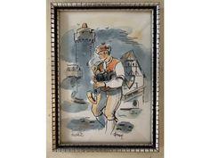 <p>kolorovaná tuš<br />20 x 29 cm</p><p><span>Alois Moravec (1899-1987) studoval na UPRUM u prof. Dítěte, Hofbauera a Kysely v letech 1913-16 a u Švabinského na Akademii výtvarných umění v Praze 1916-20, byl členem Umělecké besedy 1936-50, Spolku Hollar od 1919, Jihočeských výtvarníků 1936-50, Západočeských výtvarníků 1923-1935, věnoval se malbě, volné a užitné grafice, kresbě, ilustraci a tvorbě exlibris, jeho trvalou inspirací byla krajina a lidé jižních Čech, zastoupen je ve sbírkách… Design, Art, Craft Art, Kunst, Gcse Art, Design Comics, Art Education Resources