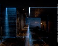 The Therme Vals. firm: Peter Zumthor, with Marc Loeliger, Thomas Durisch and Rainer Weitschies; Peter Zumthor, Architecture Classique, Interior Architecture, Therme Vals, Thermal Hotel, Bath Photography, Italian Street, Construction, Ceiling Design