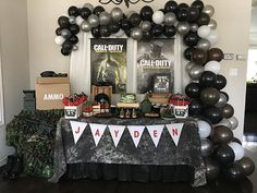 Thank you for reporting to the Call of Duty. #callofduty #callofdutyinfinitewarfare #birthday #birthdayboy #balloons #cake #cupcakes #table #desserttable #party #eventplanning #msungevents #eventplanner #kids #teenager #thirteen #cod thirteen #eventplanner #teenager #callofdutyinfinitewarfare #msungevents #party #cupcakes #table #birthdayboy #eventplanning #birthday #kids #cake #cod #callofduty #desserttable #balloons #eventprofs #meetingprofs #eventplanner #eventtech