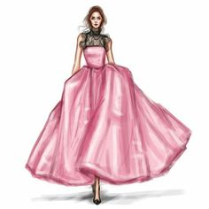 Fashion illustrations by shamekh bluwi Fashion Illustration Dresses, Beauty Illustration, Fashion Illustrations, Fashion Model Sketch, Fashion Sketches, Fashion Sketchbook, Fashion Art, Fashion Models, Moda Chic
