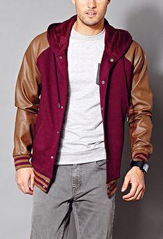 Easy Varsity Jacket | 21 MEN - 2000076167
