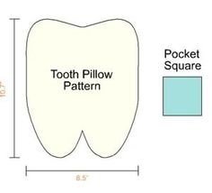 Need to make a tooth fairy pillow for Patrick! Website has good ideas...like putting glitter on money the tooth fairy leaves behind.