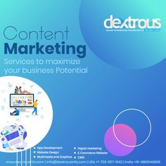 We are offering Content Marketing to increase the profit to engage your customers, make brand quality, long-lasting impression and above all, catch the attention of your potential customers. Seo Marketing, Digital Marketing Services, Content Marketing, Online Marketing, Web Development Agency, Design Development, Web Design Agency, Information Technology, Ecommerce