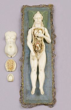 Anatomical ivory model of a pregnant woman, XIX century, Europe.