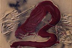 'Signe i Mans' by Antoni Tàpies