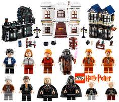 Amazon.com : LEGO Harry Potter Diagon Alley 10217 : Toy Interlocking Building Sets : Toys & Games
