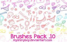 Brushes Pack .10 by MyShinyBoy.deviantart.com on @deviantART