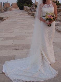 Ivory Pronovia Rafia Wedding Dress #preloved £250