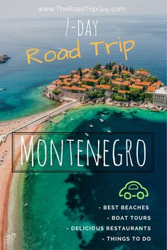 7-day road trip in Montenegro. Learn all about this amazing country #roadtrip #montenegro #balkan #travelguides #travelblogger