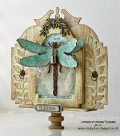 Hello everyone! Today, I'm thrilled to be sharing my first post as a member of the Tim Holtz Media Team and for this post, I used many of...