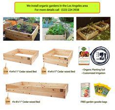 "raised bed kit by ""mini farmbox"""