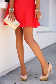 VIVALUXURY: DETAILS- CHARLOTTE OLYMPIA DOLLY PUMPS & J CREW GLITTER CLUTCH