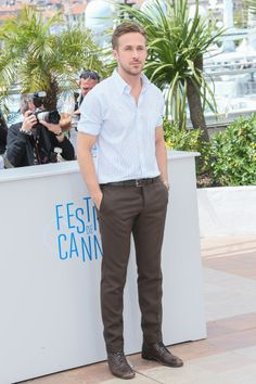 Cannes 2014: The best men's fashion moments (and by that we mean eye candy) // Ryan Gosling