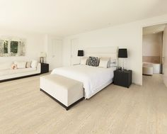 Cork Deco flooring collection - Cork flooring - bedroom -  USFloors - cork inspo - silent and warm cork floor - great flooring alternative for bedrooms - visit www.usfloorsllc.com