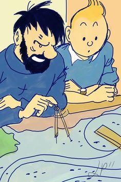 Tintin. CAPTAIN hADDOCK - BRILLIANT!