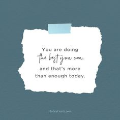 You're doing the best you can, and that's more than enough today! Spiritual Needs, Catholic Religion, Speak Life, Hard Days, Verses, Encouragement, Spirituality, Cards Against Humanity, Social Media