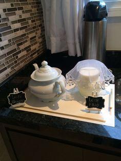 Chá do Matheus  Chá de Bebê Chá de Menino Leite Café Bule