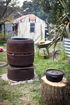 1000 Images About Fire Pits Places Chimney On Pinterest