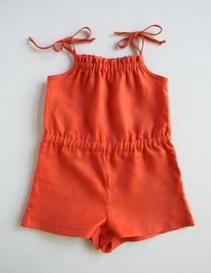 Summer Romper for Kids | The Purl Bee