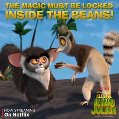 """What happens when you put #KingJulien and coffee together? Find out in the """"One More Cup"""" episode, and check out all new episodes of All Hail King Julien on Netflix!"""
