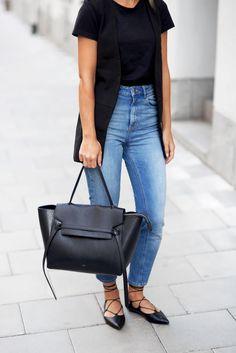 Jeans – Asos Bag – Céline Vest – Asos  Shoes – Topshop