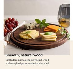 At Alddn.com we believe beautiful wood cutting boards are indispensable sources to happiness and creativity. It is our mission to bring that to YOU and YOUR FAMILY. @Alddnus relentlessly strive for touchable and lasting greatness in our all-natural premium wood cutting boards - each of Alddn cutting boards is blessed with modern design, expert craftsmanship and top-grade materials. Rustic Serving Trays, Food Serving Trays, Serving Trays With Handles, Best Cutting Board, End Grain Cutting Board, Wood Chopping Board, Wood Cutting Boards, Wood Tray, Wooden Platters