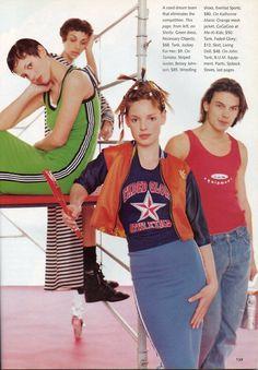 Katherine Heigl in Seventeen magazine, 1995