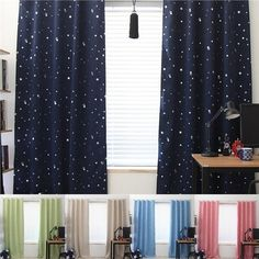 1 Pcs Home Textile Blackout Thermal Solid Window Curtains For Bedroom 5 Colors Russia Style - Luxury Designer Fixures 1 # # #
