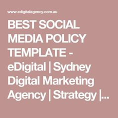 HOW TO WRITE A KILLER DIGITAL MARKETING PLAN Pinterest - Marketing policy template