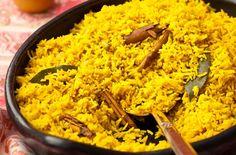 This classic Pilau rice recipe is a simple and delicious recipe that you�ll want to make time and time again. With plenty of flavour, this tasty side dish is perfect for serving the chicken tikka masala, spicy lamb or other classic Indian dishes. Naan bread on the side and fresh cinnamon sticks broken throughout, this delicious rice dish is a flavoursome side that would complete any Indian banquet.