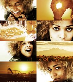 if the months had faces → Antonia Thomas as August, suggested by professionalmagician and therandomnerdette