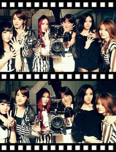 T-ara take a photo on 'Number 9' MV set | allkpop.com