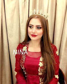 Nina Salon Kurdistan - Kurdish makeup - Makyajî Kurdî Pinterest: @kvrdistan