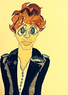 Thanks to Paolo Nutini! I loved his amazing performance in Genoa and, while listening to Caustic Love, I made this sketch.
