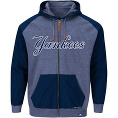 newest d3500 61a3c New York Yankees First Play Full Zip Up Hoody by Majestic Athletic - MLB.com