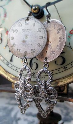 'pendulums' earrings by The French Circus on Etsy