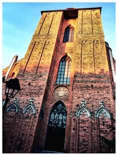 Cathedral of SS. John the Baptist and John the Evangelist in Torun, Poland