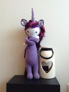Unicorn mod made by Barbara J. / based on a lalylala crochet pattern